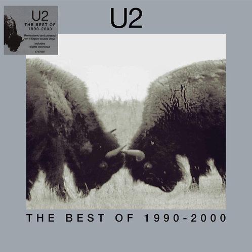 U2 2xLP The Best Of 1990-2000 (Remastered Double Vinyl)