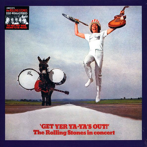 ROLLING STONES LP Get Yer Ya-Ya's Out! (DSD Remastered)
