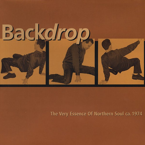 VARIOUS LP Backdrop - The Very Essence Of Northern Soul Ca. 1974
