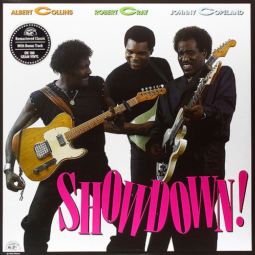 ALBERT COLLINS / ROBERT CRAY / JOHNNY COPELAND LP Showdown!