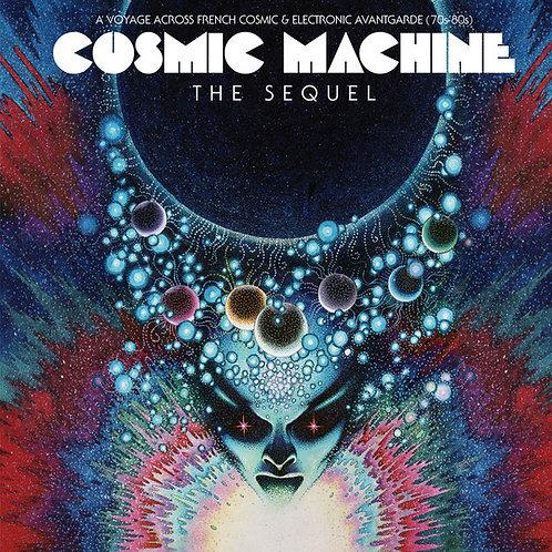VARIOS 2xLP+CD Cosmic Machine: The Sequel: A Voyage Across French Cosmic