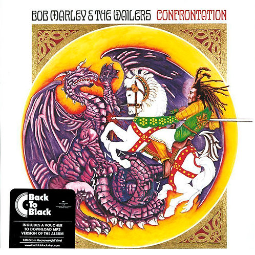 BOB MARLEY & THE WAILERS - LP Confrontation
