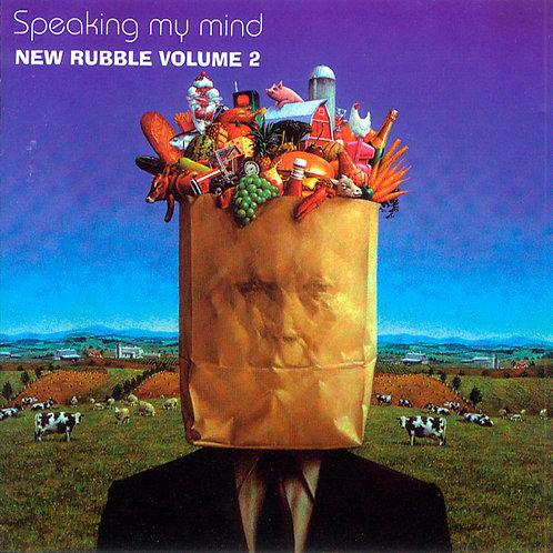 VARIOUS CD Speaking My Mind (New Rubble Volume)