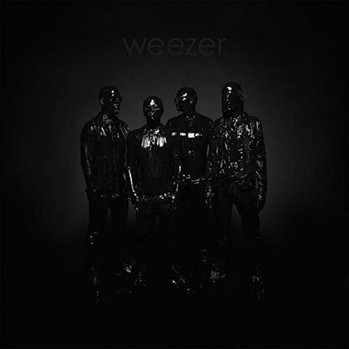 WEEZER LP Black Album (Indie Stores Black & Clear Coloured Vinyl)
