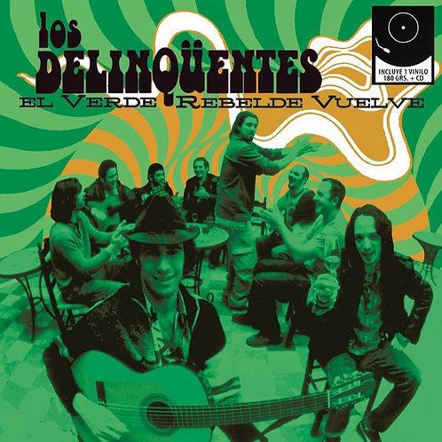 LOS DELINQUENTES LP+CD El Verde Rebelde Vuelve