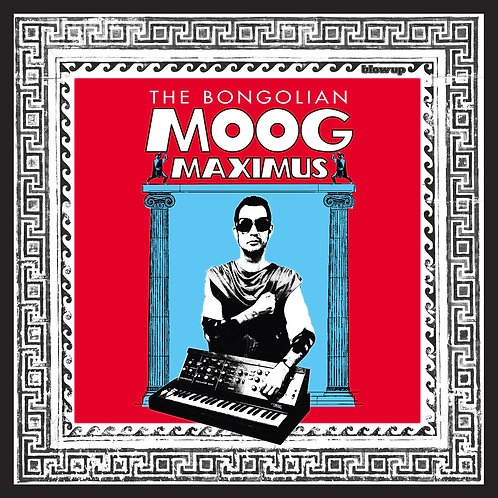 THE BONGOLIAN LP Moog Maximus (Clear Vinyl)