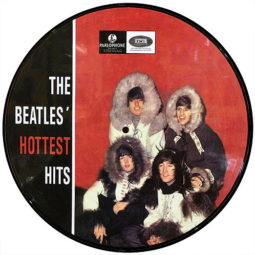 BEATLES LP Hottest Hits (Picture Disc)