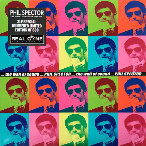 PHIL SPECTOR 3xLP The Wall Of Sound 1958-1962