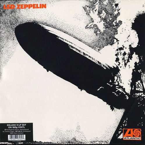 LED ZEPPELIN 3xLP Led Zeppelin I (Deluxe Edition Remastered)