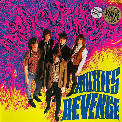MIRACLE WORKERS LP Moxie's Revenge (Orange Coloured Vinyl)