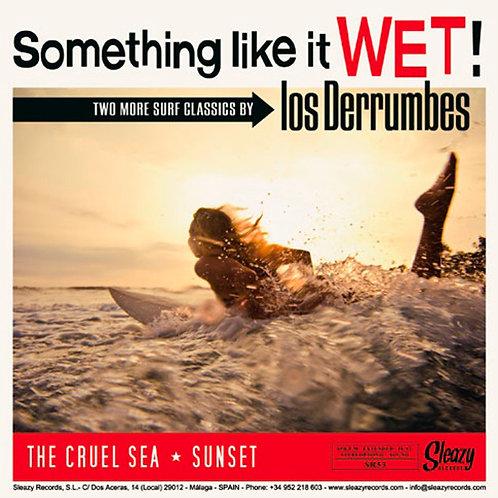 """LOS DERRUMBES 7"""" EP Something Like It Wet"""