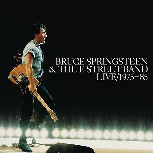 BRUCE SPRINGSTEEN & THE E STREET BAND 3xCD Live/1975-85
