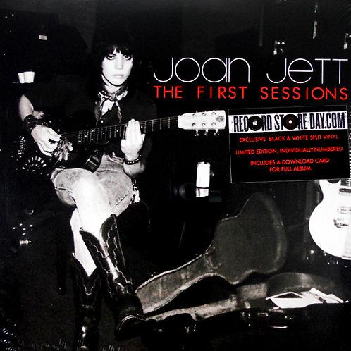 JOAN JETT LP The First Sessions (Black & White Coloured Vinyl RSD 2015)