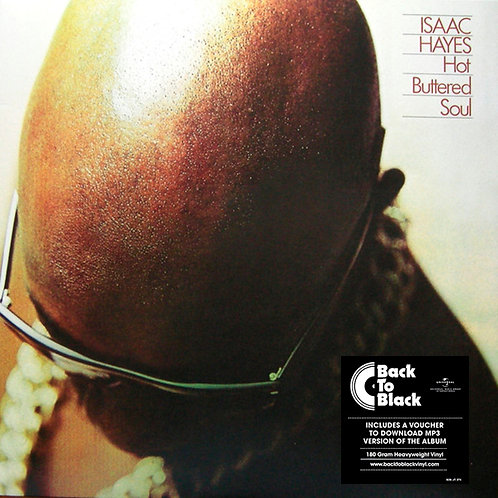 ISAAC HAYES LP Hot Buttered Soul
