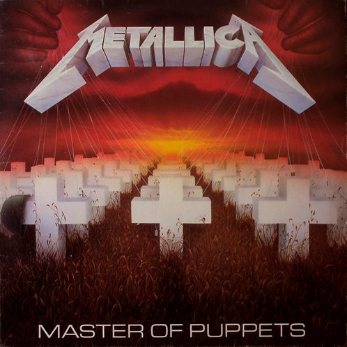 METALLICA LP Master Of Puppets