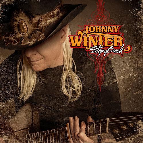 JOHNNY WINTER LP Step Back (Last Album)