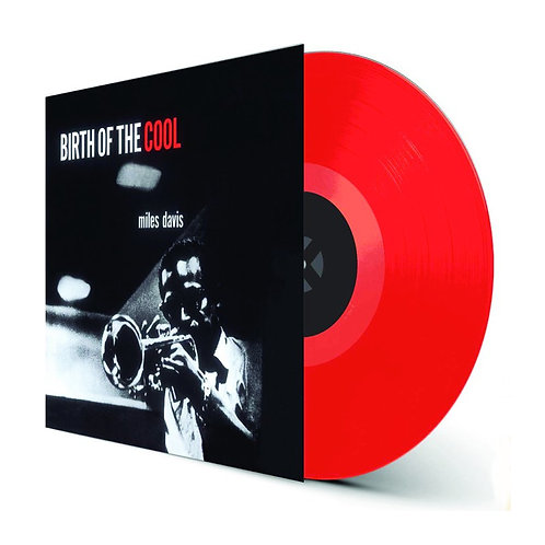 MILES DAVIS LP Birth Of The Cool (Red Coloured Vinyl)