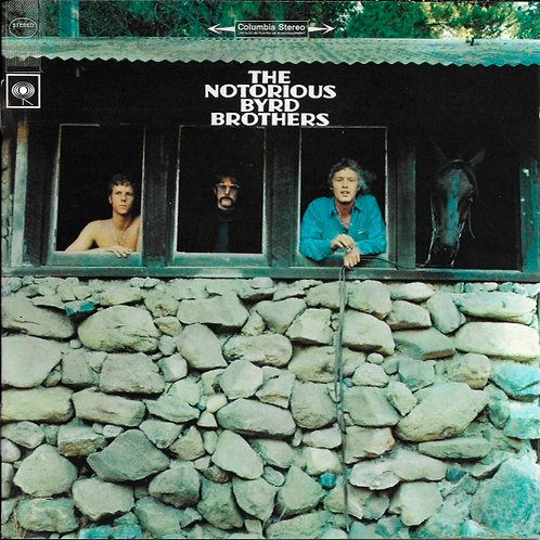 THE BYRDS CD The Notorious Byrd Brothers + Bonus Tracks