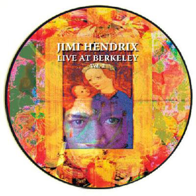 JIMI HENDRIX LP Live At Berkeley Volume 2 (Picture Disc)