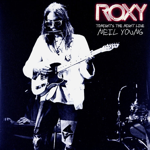 NEIL YOUNG 2xLP Roxy (Tonight's The Night Live)
