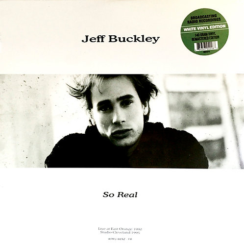 JEFF BUCKLEY LP So Real (White Coloured Vinyl)