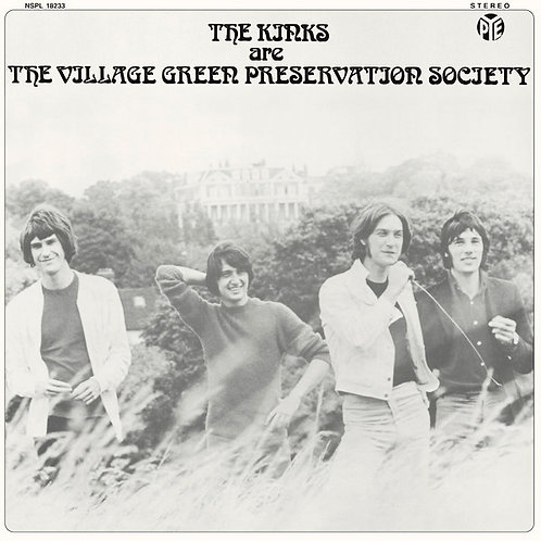 KINKS LP Are The Village Green Preservation Society (Sweden Rare Cover)