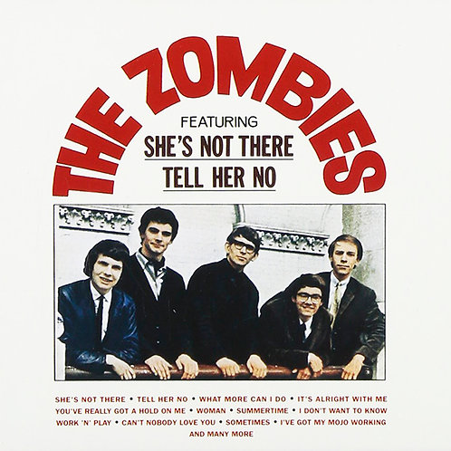 THE ZOMBIES CD Begin Here + Bonus Tracks