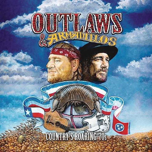 VARIOS LP Outlaws & Armadillos: Country's Roaring '70s