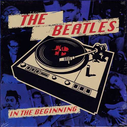 """BEATLES BOX SET 5x7"""" In The Begging (Limited Blue Coloured Vinyl)"""