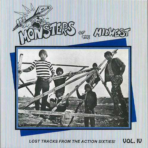 VARIOS LP Monsters Of The Midwest Vol. IV (Lost Tracks From The Action Sixties!)