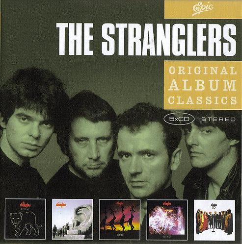 THE STRANGLERS BOX SET 5xCD Original Album Classics