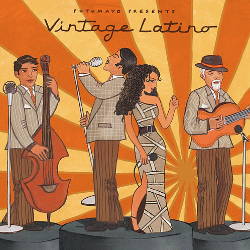 VARIOS LP Putumayo Presents Vintage Latino