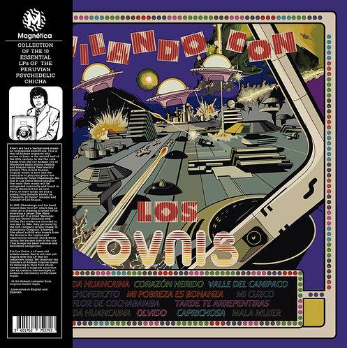 LOS OVNIS LP Bailando Con Los Ovnis (Yellow Coloured Vinyl)