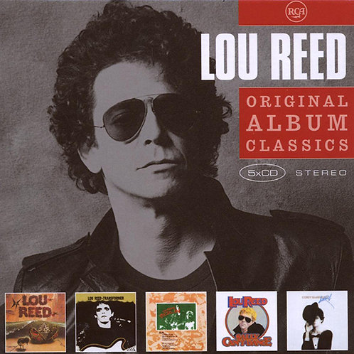 LOU REED BOX SET 5xCD Original Album Classics