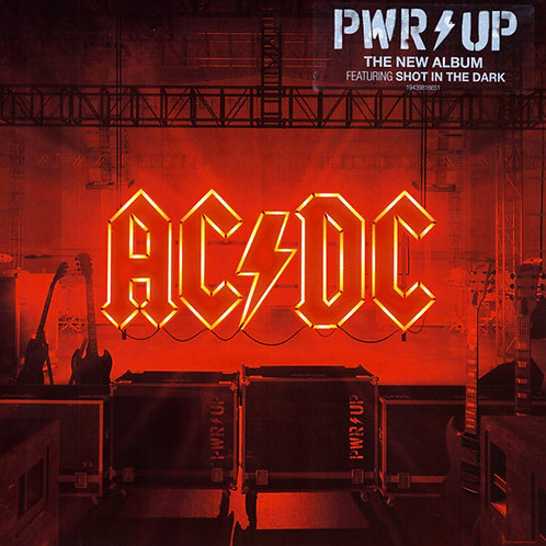 AC/DC LP Pwr Up - Power Up (Yellow Coloured Vinyl Limited Edition)