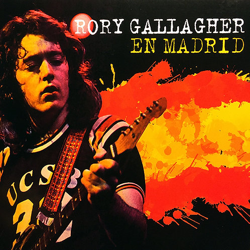 RORY GALLAGHER CD En Madrid