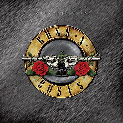 GUNS AND ROSES 2xLP Greatest Hits (Gold With White & Red Splatter Coloured)