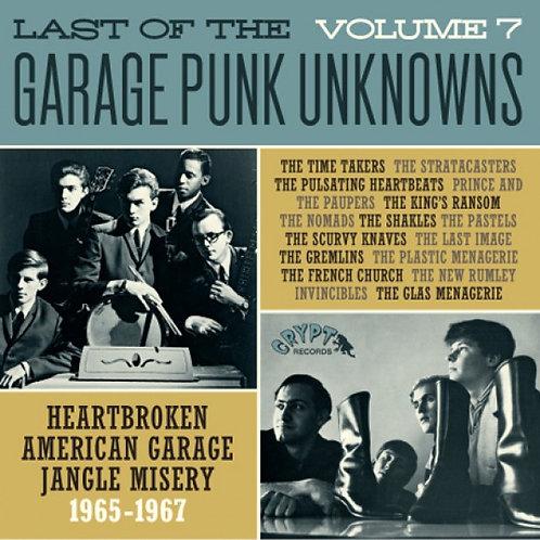 VARIOS LP Last Of The Garage Punk Unknowns Volume 7