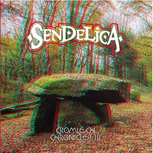 "SENDELICA 3x10"" Cromlech Chronicles III (3D Sleeve + 3D Glasses)"