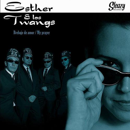 """ESTHER & LOS TWANGS  7"""" Brebaje de Amor"""