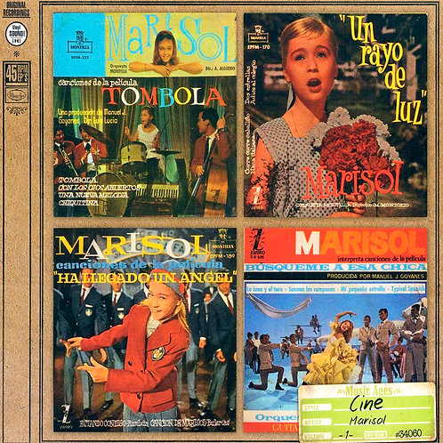 MARISOL CD Music Ages (4 Original 45 Ep's)