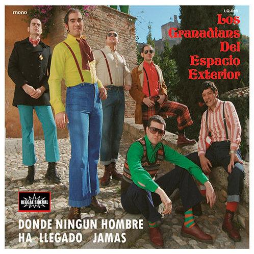 LOS GRANADIANS DEL ESPACIO EXTERIOR CD Donde Ningun Hombre Ha Llegado Jamas