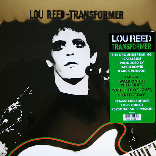 LOU REED LP Transformer (Remasteredl)