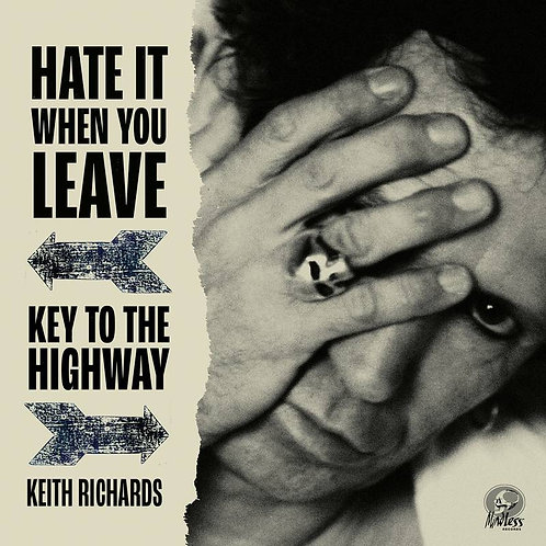 """KEITH RICHARDS 7"""" Hate It When You Leave (Red Coloured RSD Drops October 2020)"""