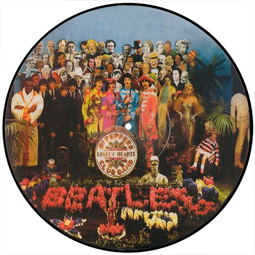 BEATLES LP Sgt. Pepper's Lonely Hearts Club Band (Picture Disc)