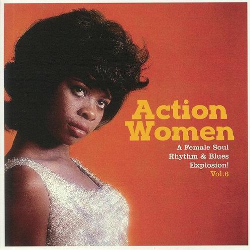 "VARIOS 7"" EP Action Women Vol 6 (A Female Soul Rhythm & Blues Explosion)"