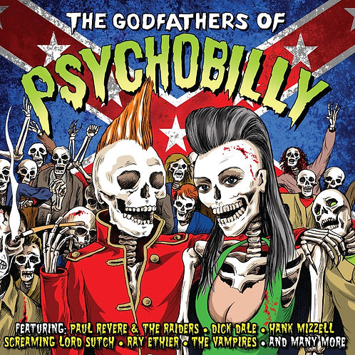 VARIOUS CD The Godfathers Of Psychobilly
