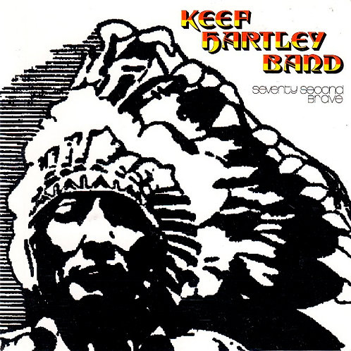 KEEF HARTLEY BAND CD Seventy Second Brave