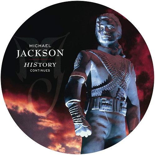 MICHAEL JACKSON 2xLP History Continues (Picture Disc)