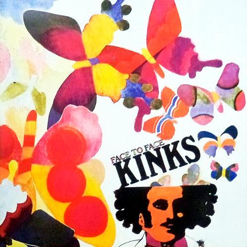 THE KINKS CD Face To Face + Bonus Tracks